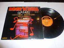 Rock 'n' Roll Greats Vol 1 - UK 12-track compilation LP