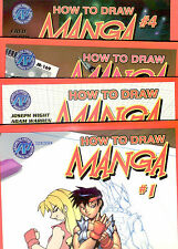 How To Draw Manga  -  Vol 1-10  Collect All 17 volumes --  IMPORTED - NEW!