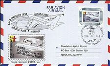 """A380-16 FFC CANADA """"Airbus A380 - Essais Grand Froid / Ours polaire"""" 2006"""