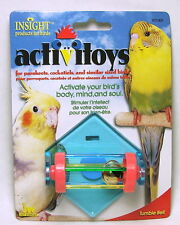 JW PET INSIGHT TUMBLE BELL BIRD TOY PARAKEET COCKATIEL. FREE SHIP IN THE USA