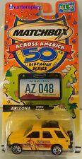 2001 Boys Matchbox Across America 50th Birthday Series #048 ARIZONA Isuzu Rodeo