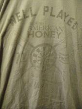 Wild Turkey American Honey Dartboard Your Shot PROMO T Shirt Large Gray