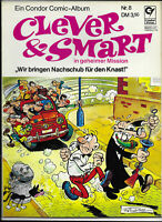 Clever & Smart Nr.8 von 1973 - Z1-2 ORIGINAL ERSTAUFLAGE COMIC-ALBUM Condor
