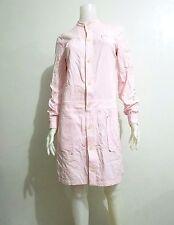 APC RUE DE FLEURUS PARIS SHIRT DRESS PINK  SIZE 36 US6