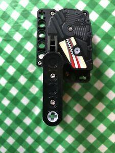 LEGO BLACK PULLBACK MOTOR MOTOR BIKE RACER 8371