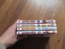 MANGA BD AMAKUSA 1637 lot 4 tomes 1 2 3 4 michiyo akaishi akiko