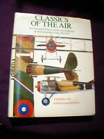 BOOK  MILITARY ILLUSTRATED CLASSICS OF THE AIR AIRCRAFT 255 PAGES FOKKER ETC