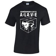 Schrodingers Cat Camiseta Hombre Dead Or Alive Big Bang Theory Sheldon Cooper