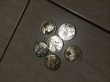 6PC gibraltar ecu medal coins,not silver