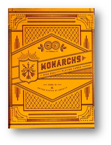 Monarch Mandarin Edition By theory11 Poker Playing Cards Cardistry