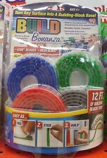 New Build Bonanza Building Block Peel & Stick Tape Works w/ lego, mega bloks