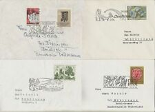8 Number Austrian Stamps