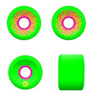 Slime Balls Santa Cruz Skateboard Wheels 54.5mm Mini OG Slime 78A Green