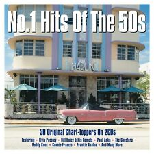 No.1 Hits Of The 50s VARIOUS ARTISTS Best Of 50 Essential Songs NEW SEALED 2 CD