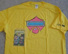 FUTURE-WORM DISNEY XD OFFICIAL TV PROMOTIONAL T-SHIRT XL + 5 COLLECTIBLE PINS