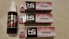 3 Tubes BSI IC-GEL 20gm Tube & Insta Set- Coral Frag Super Glue - Free Ship