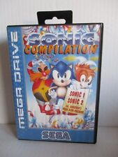 SEGA Mega Drive Spiel SONIC Compilation 1+2