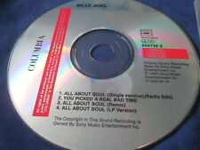 Billy Joel ‎– All About Soul Columbia Records ‎– COL 659736 2  Promo CD Single