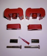 7-1601 Chevy GMC K5 K20 K30 Blazer Jimmy Transfercase Mounts (Red) NP 205