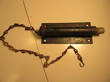 Vintage metal door latch