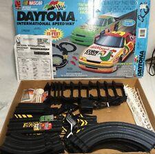 Vintage Life-Like NASCAR Daytona International Speedway HO Slot Car Set