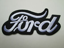 Ford sew on / iron on patch badge NEW car mechanic UK seller car van  racer USA