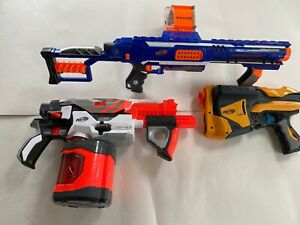 Nerf Guns Bundle of  Three Good clean condition