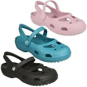 SHAYNA GIRLS INFANT CROCS SLINGBACK CASUAL SUMMER BEACH CLOSED TOE SANDALS SHOES