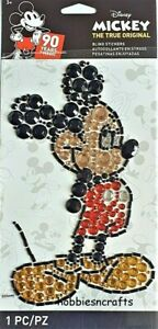 MICKEY MOUSE BLING Jolee's Boutique 3-D Beautiful Disney Gemstone Stickers