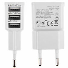 2A 3-Ports USB EU Plug Travel AC Wall Charger Adapter For Samsung iPhone HTC LG