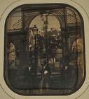Daguerreotype : L'Ouverture de l'Exposition Universelle Paris France 1855 Photo