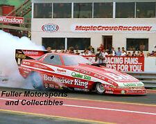 KENNY BERNSTEIN 1989 BUD KING BUICK NHRA FUNNY CAR 8X10 PHOTO KEYSTONE NATIONALS
