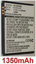 Batterie 1350mAh Pour ACER Liquid C, Liquid Gallant, Liquid Gallant Duo E350