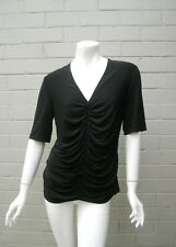 Burberry Size L (12-14) Ruched Top Authentic