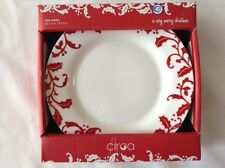 Ciroa Side Plates Holiday 8 inch / 20.3 cm Set of 4