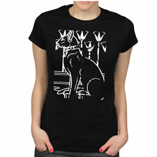 Cats Hip Length Short Sleeve Plus Size T-Shirts for Women