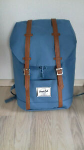 Herschel Damenrucksack Retreat Daypack 16-25L Blau, wie neu