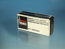 Pentax Video PV-RM800 Fernschalter für Pause Remote Pause Switch commande- 80044