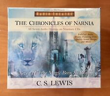 Chronicles Of Narnia Audio Book CD by CS Lewis - All 7 Dramas 19 CD's, Full Cast