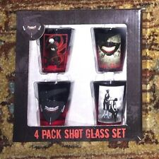 New Tokyo Ghoul Anime Shot Glasses Set of 4 NIB