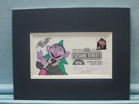 Jim Henson's Muppets & Sesame Street & First Day Cover of the Count stamp