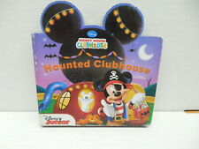 Disney Junior Mickey Mouse Haunted Clubhouse Storybook Donald Duck Goofy