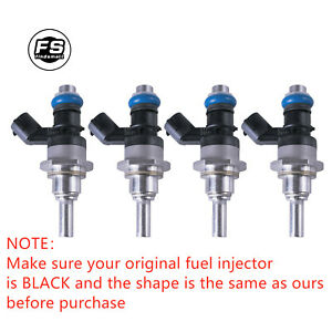 4x OEM Fuel Injectors For Mazda Speed 3 6 CX-7 L3K9-13-250A E7T20171 2.3L Turbo