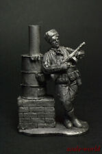 Tin soldier figure Potbelly stove fighter 54 mm