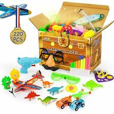 220 Pcs Carnival Prizes, Party Favors for Kids, Prizes Box Toy Assortment