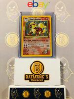 Blaine's Arcanine 1/132 1st Edition LP/NM Mint Gym Challenge Rare Holo Pokemon