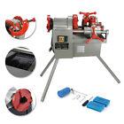 Threading Machine 110V Electric Pipe Threader Tool (1/2' - 2') Threading Cutter