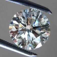 Natural 0.05 Ct Rare Diamond Loose Top Luster Round Cut F Color VVS Clarity A+