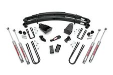 "ROUGH COUNTRY 4"" SUSPENSION LIFT KIT FORD F250 87-97 IFS TTB 4WD 5.8L 7.4L 7.3L"