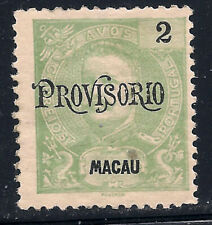 Macau Scott   132    Mint Hinged